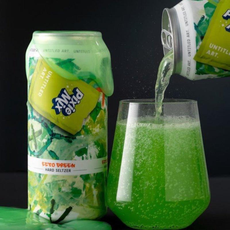 "Untitled Art ""Pixie Mix"" Ecto Green Hard Seltzer 4pack"