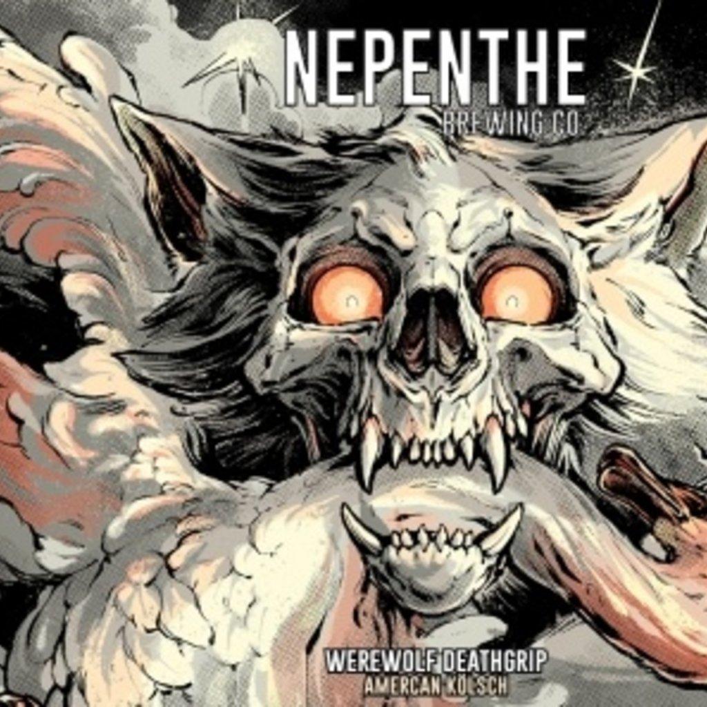 "Nepenthe Brewing Company ""Werewolf Deathgrip"" American Kolsch 4pack"