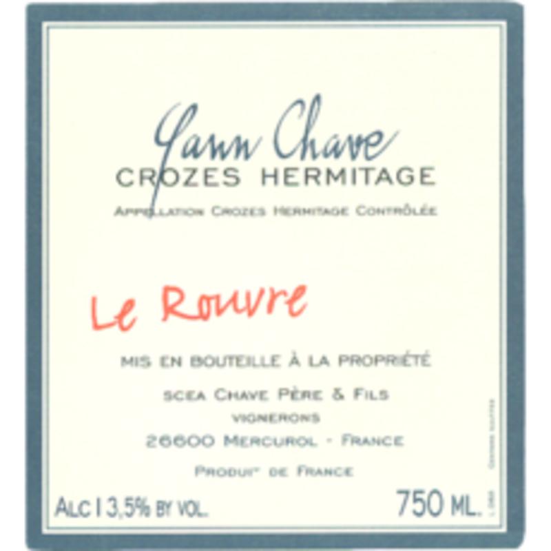 """Yann Chave """"Le Rouvre"""" Crozes-Hermitage 2018"""