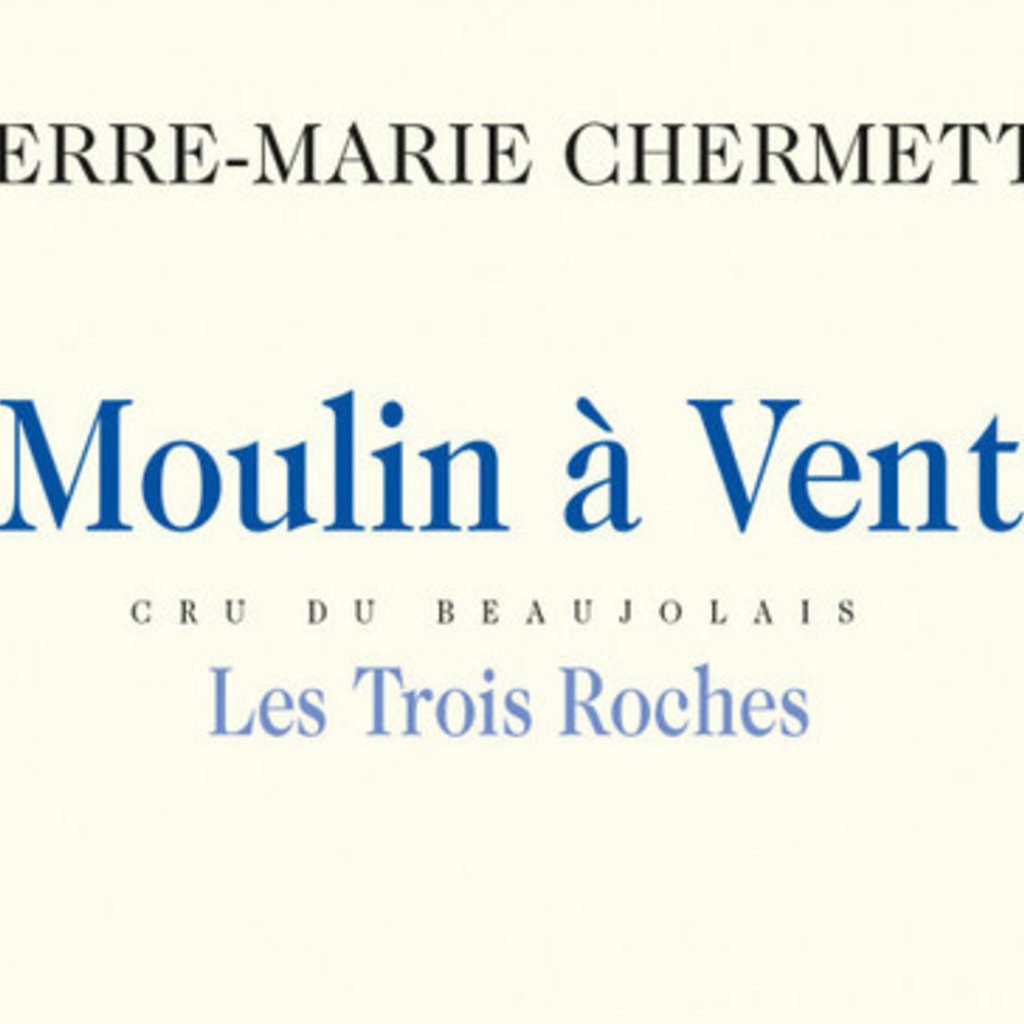Pierre Marie Chermette Moulin a Vent Les Tres Roches 2018