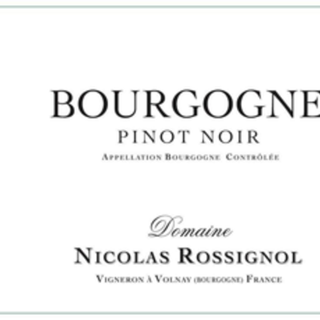 Domaine Nicolas Rossignol Bourgogne Pinot Noir 2017