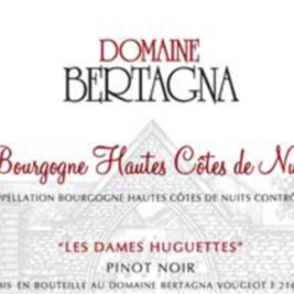 """Domaine Bertagna """"Les Dames Huguettes"""" Bourgogne Hautes Cotes de Nuits 2018"""
