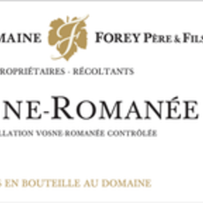 Domaine Forey Pere et Fils Vosne Romanee 2018