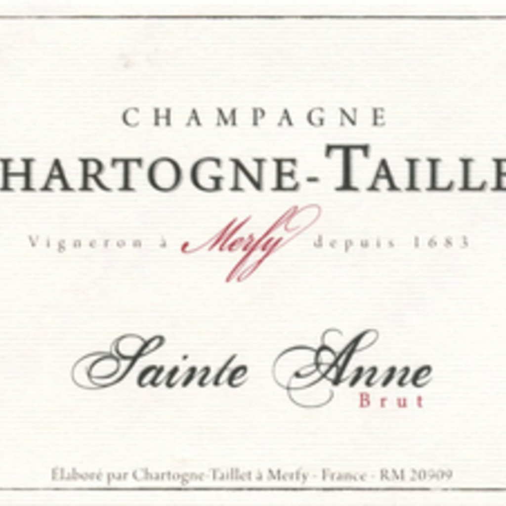 Chartogne-Taillet Champagne Brut Cuvée Sainte Anne NV