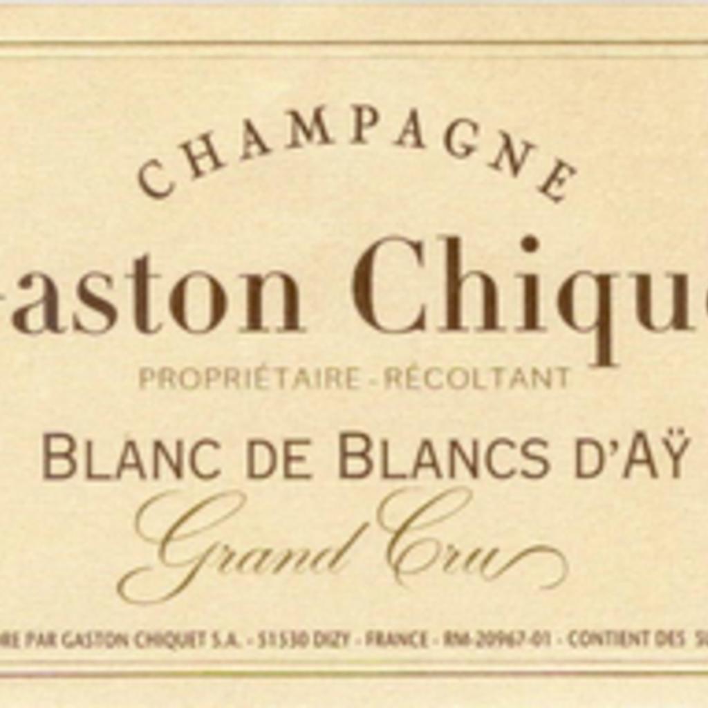Gaston Chiquet Blanc de Blanc d'Ay Brut NV