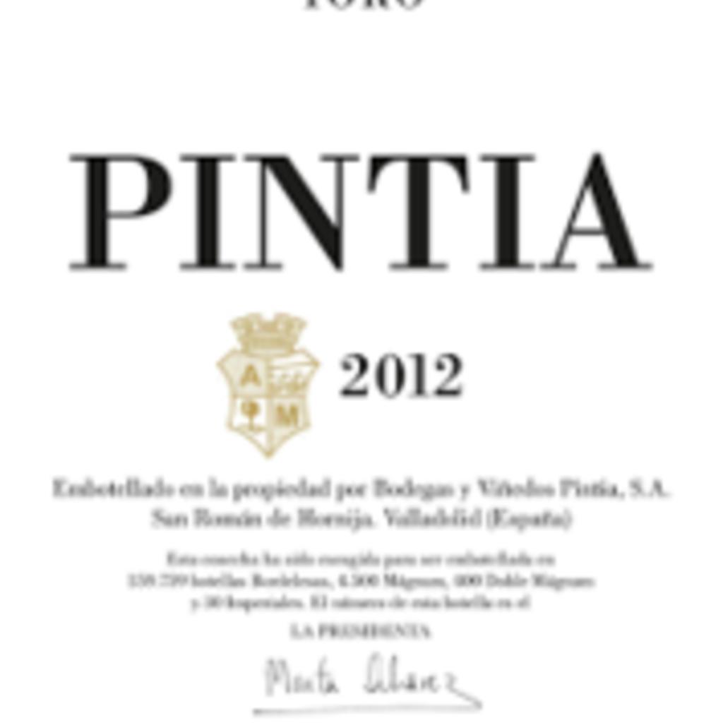 Vega Sicilia Pintia Toro 2016