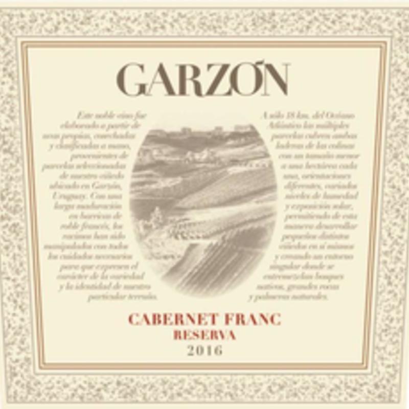 Garzon Cabernet Franc Reserva 2019