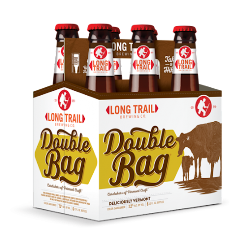 """Long Trail Brewing """"Double Bag"""" Double Amber Ale 6-Pack"""