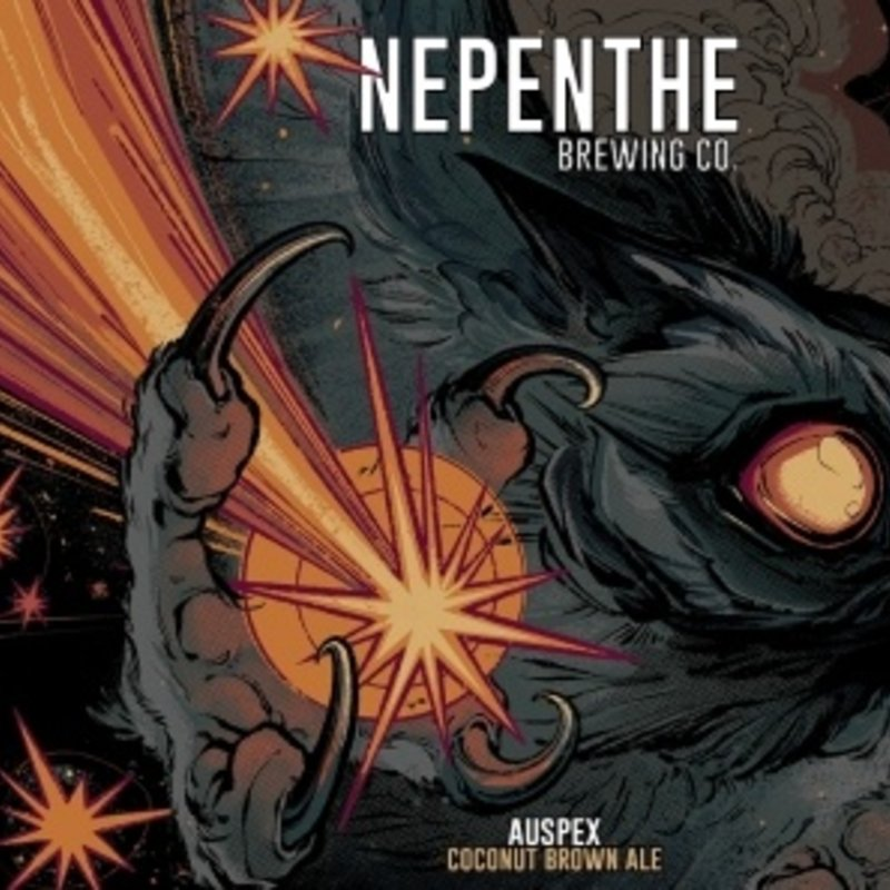"""Nepenthe Brewing """"Auspex"""" Coconut Brown Ale 4-Pack"""