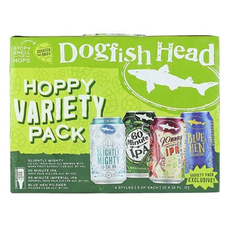 Dogfish Head Brewery Hoppy Variety 12-Pack