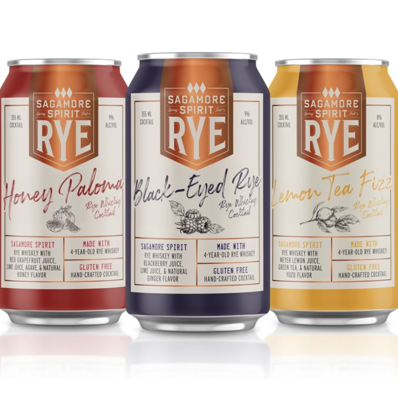 "Sagamore ""Black-Eyed Rye"" Rye Whiskey Cocktail 4-Pack"