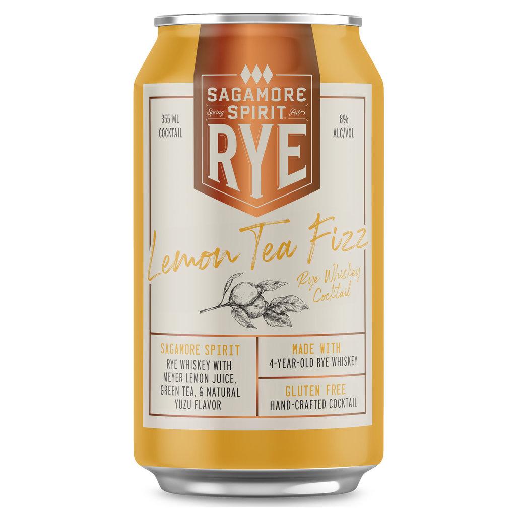 "Sagamore ""Lemon Tea Fizz"" Rye Whiskey Cocktail Single"