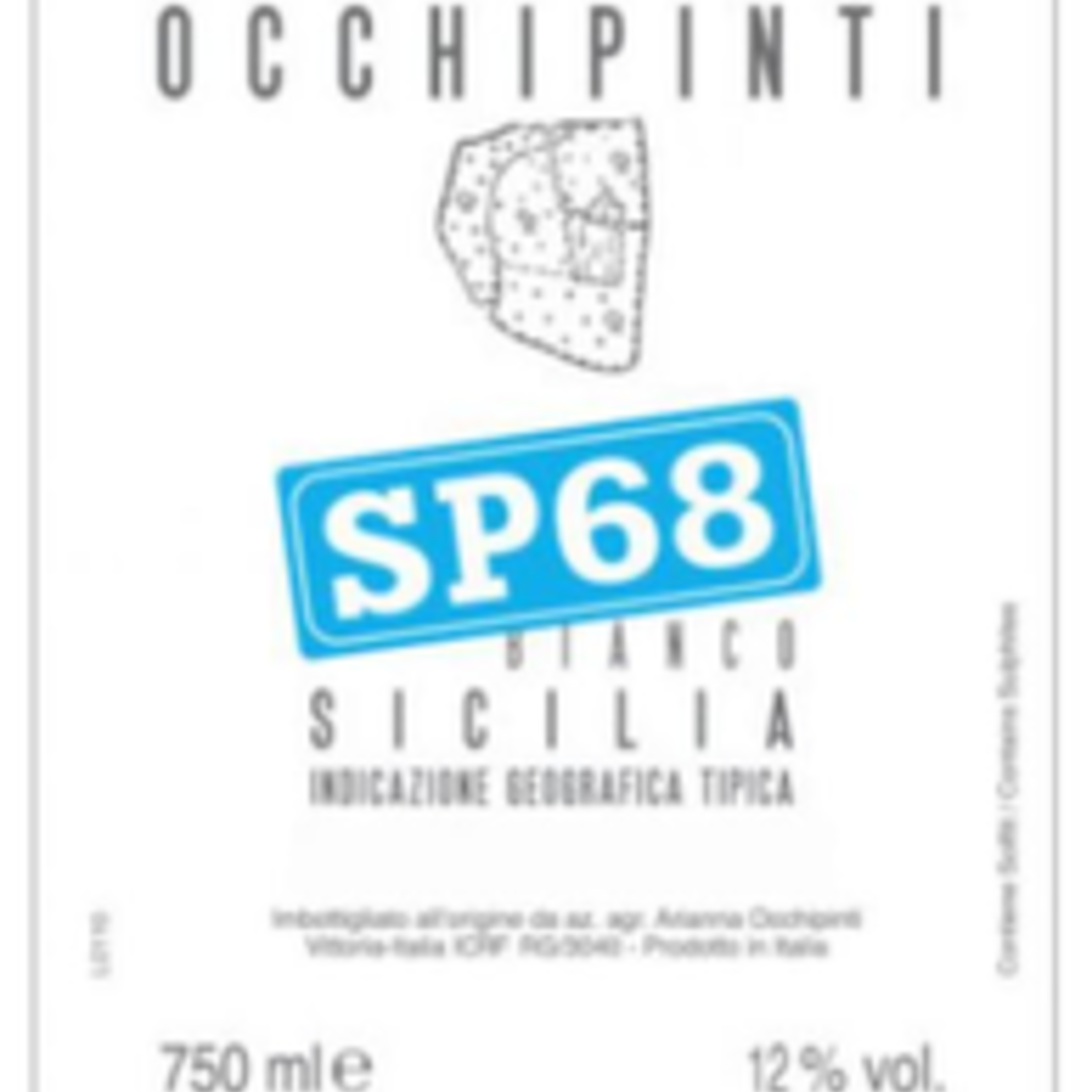 """Occhipinti """"SP68"""" Bianco 2020"""