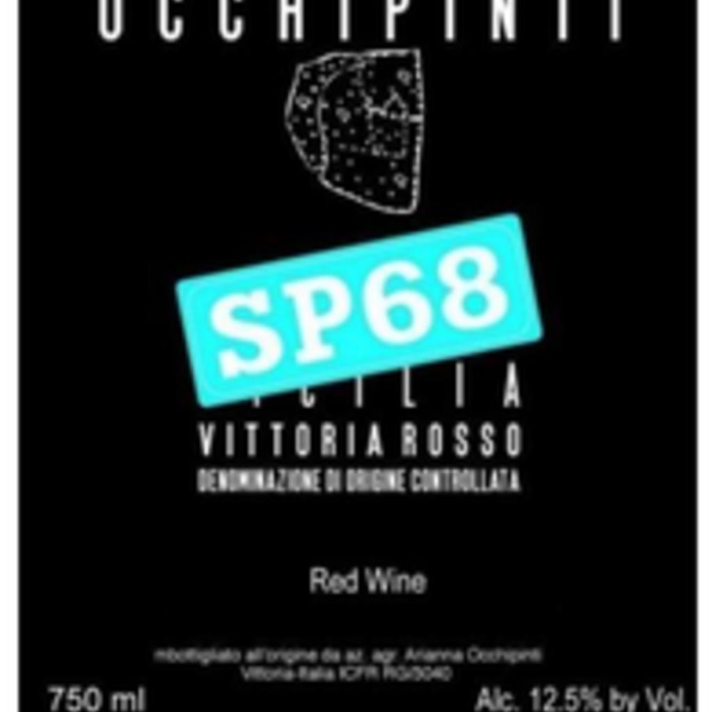 "Occhipinti ""SP68"" Rosso 2020"