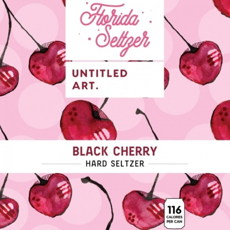 Untitled Art Black Cherry Hard Seltzer 6-Pack