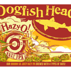 Dogfish Head Brewery Hazy-O! IPA 6-Pack