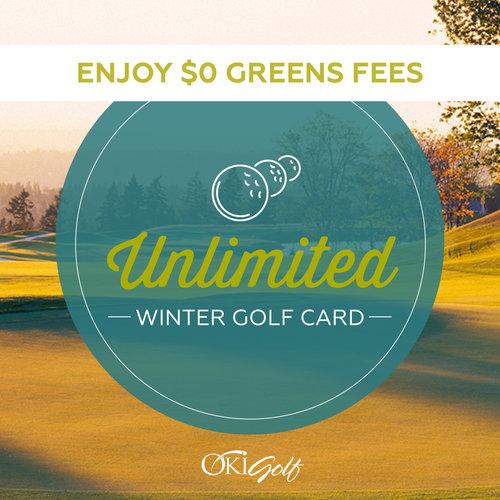 Redmond Ridge Unlimited Winter Golf Card with Cart
