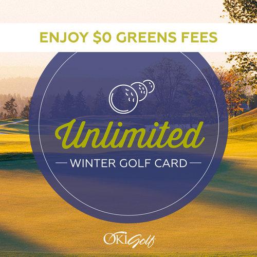 Washington National Unlimited Winter Golf Card