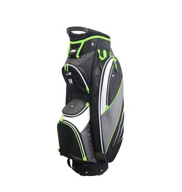 Golf Trends Bandon Golf Bag - Black/Grey/Lime
