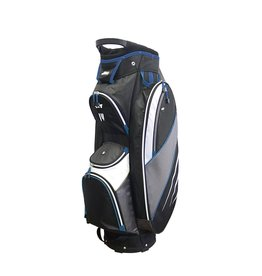 Golf Trends Bandon Golf Bag - Black/Grey/Royal