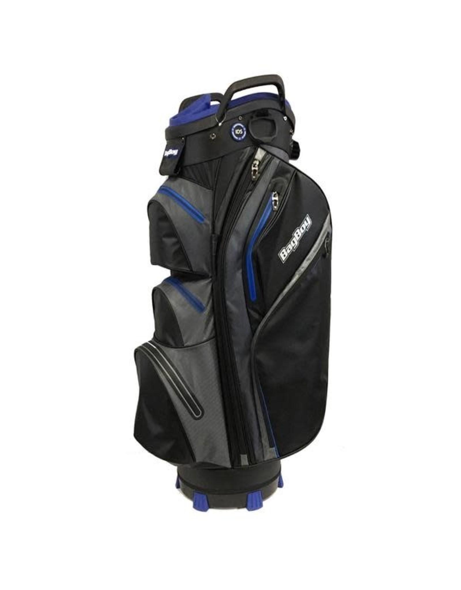 Golf Trends Bag Boy Cp14 Black/Charcoal/Royal