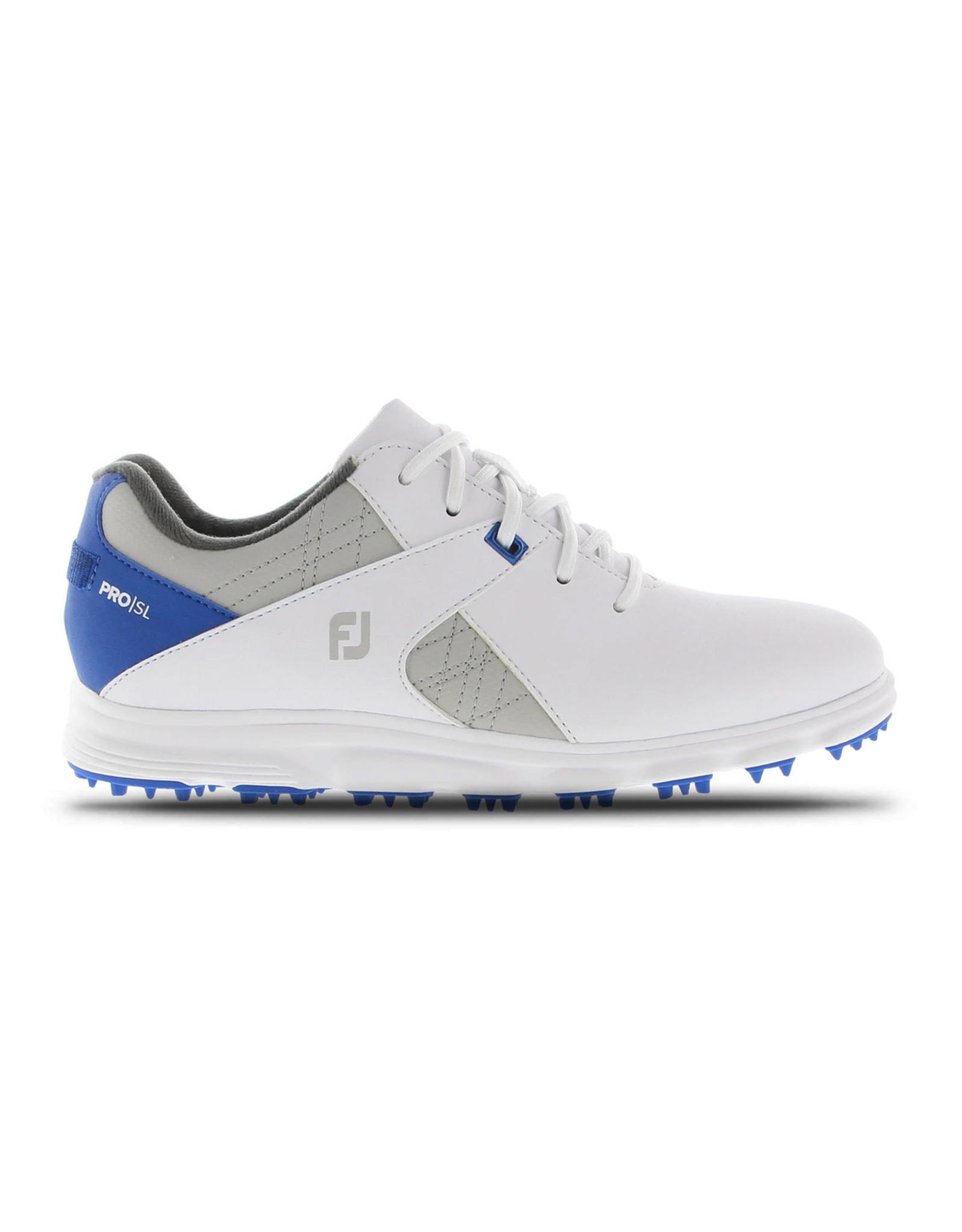 FootJoy FootJoy Jr Boys Pro SL White/Grey/Blue