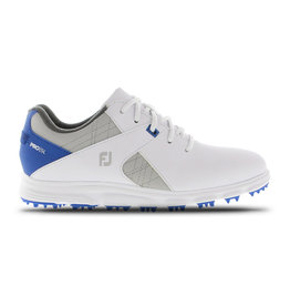Footjoy FootJoy Jr Boys Spikeless Pro SL White/Grey/Blue