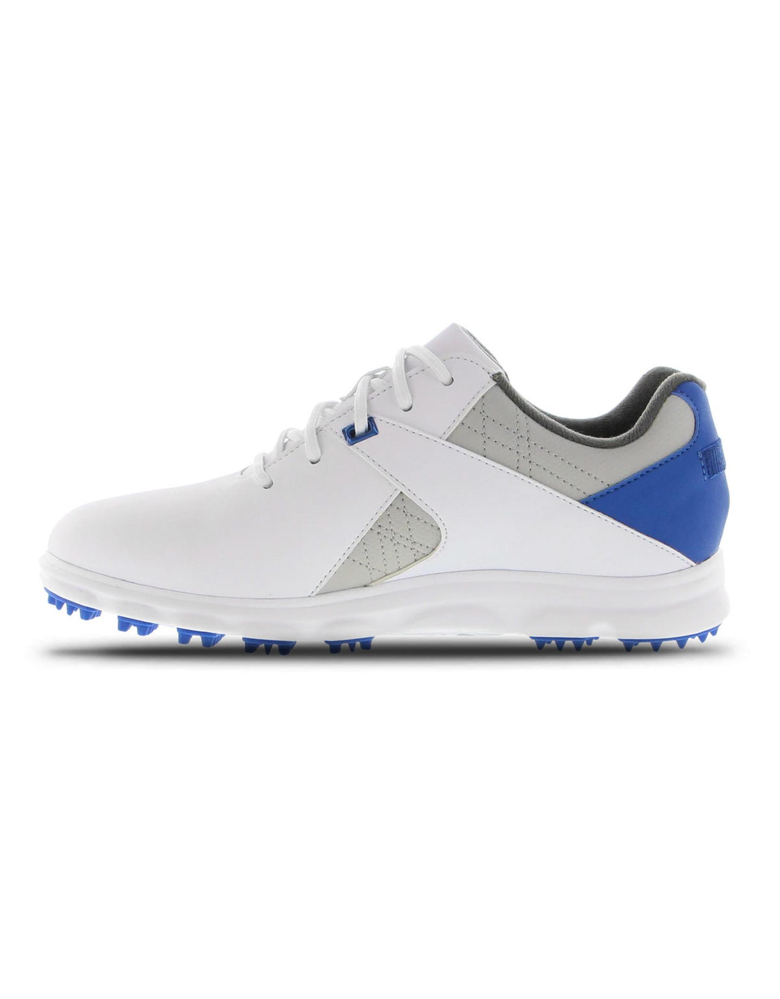 Footjoy FootJoy Jr Boys Spikeless Pro SL White/Grey/Blue