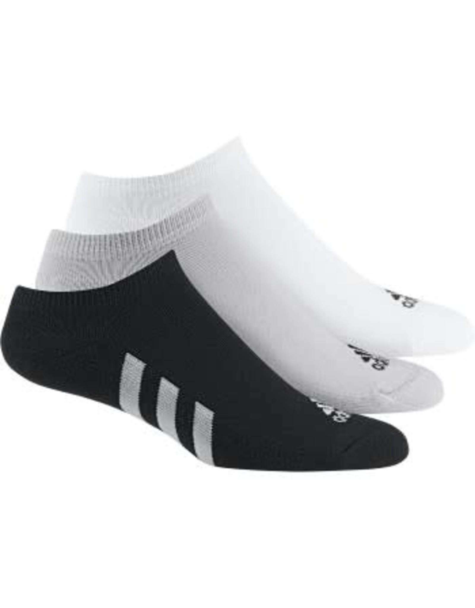 Adidas Adidas Men's 3 Pack NoShow Socks