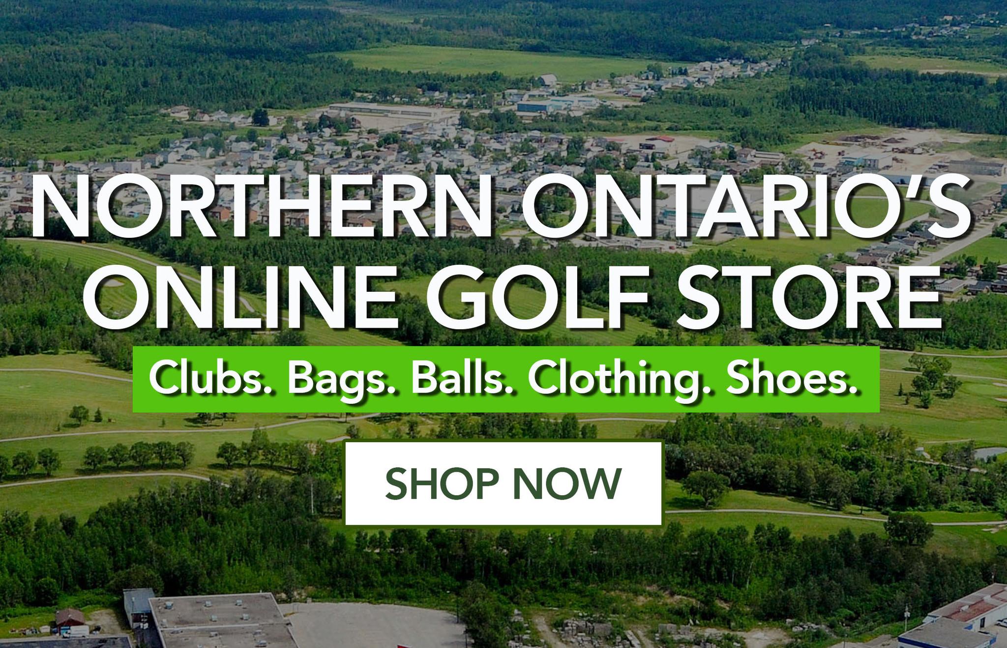 Northern Ontario's Online Golf Store
