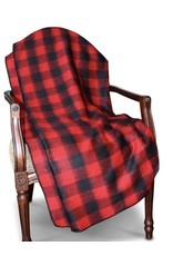 "58"" x 69"" Buffalo Plaid Alpaca Throws"