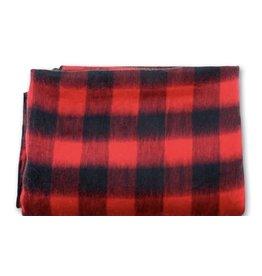 "70"" x 94"" Buffalo Plaid Alpaca Bed Blanket"