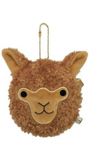 Alpaca Face Coin Purse- Brown