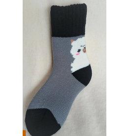 Alpaca Slumber Socks Crew
