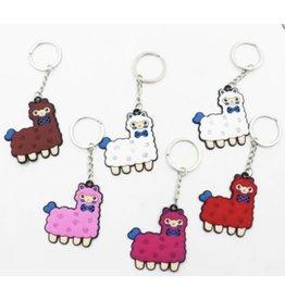 Alpaca Tag Key Chain
