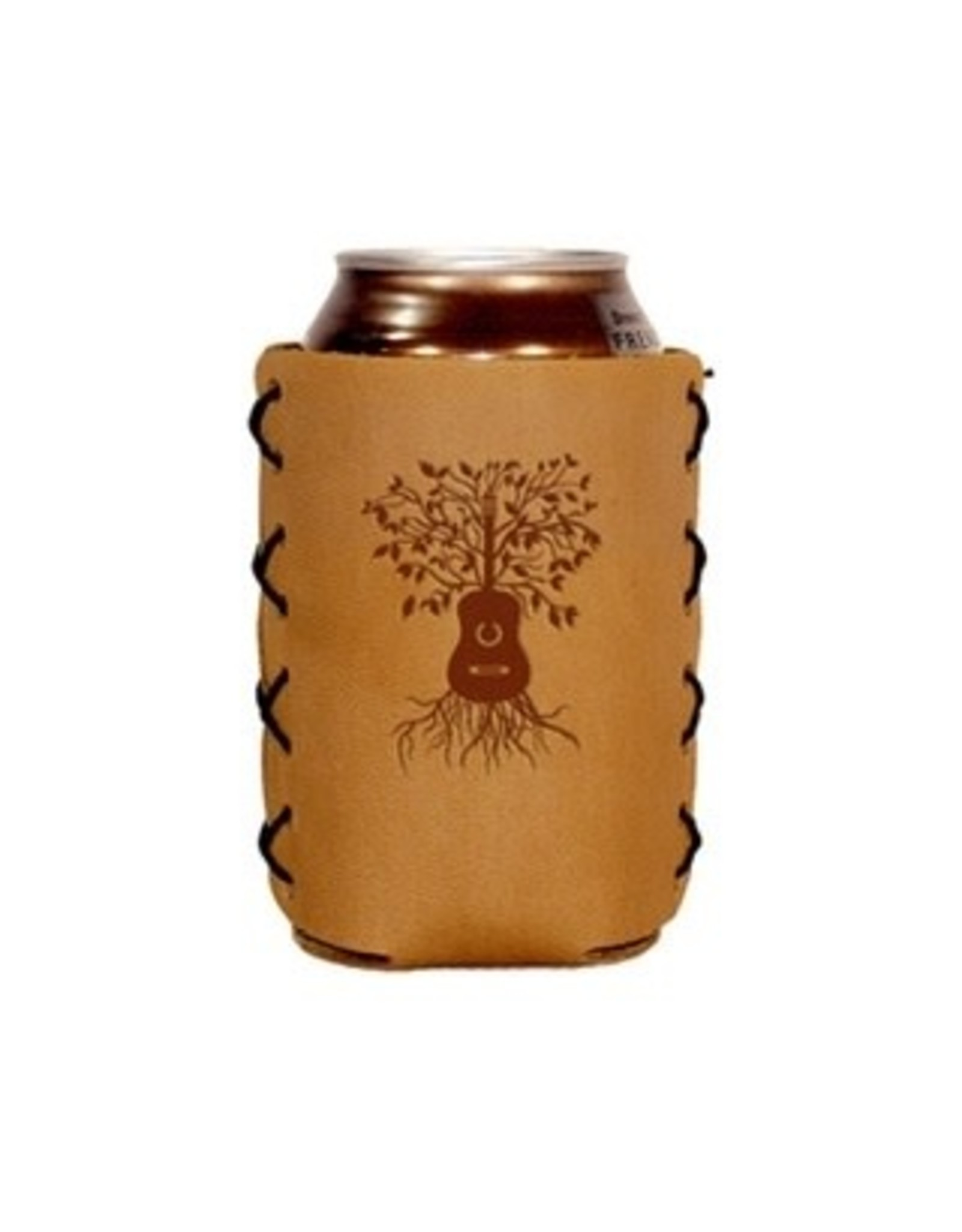Leather 12 oz. Can Holder - Guitar Tree