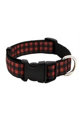 Fireside Buffalo Check DogCollar