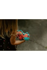 Dino Rattle - Steggy - Coral - 10 Year Anniversary Edition