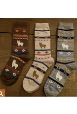Alpaca Watching Socks - Child
