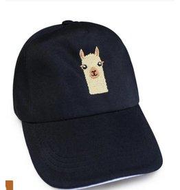 Black Alpaca Baseball Cap