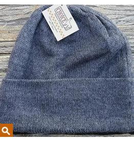 Gray Iditarod 100% Beanie Hat