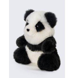 """11"""" Baby Alpaca Fur Panda Bear Plush"""