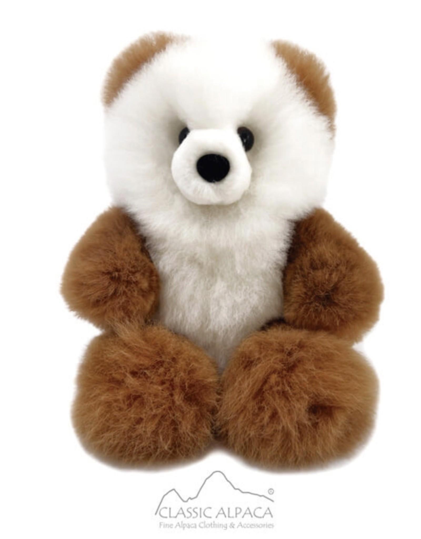 "13"" Premium Baby Alpaca Fur Teddy Bear"