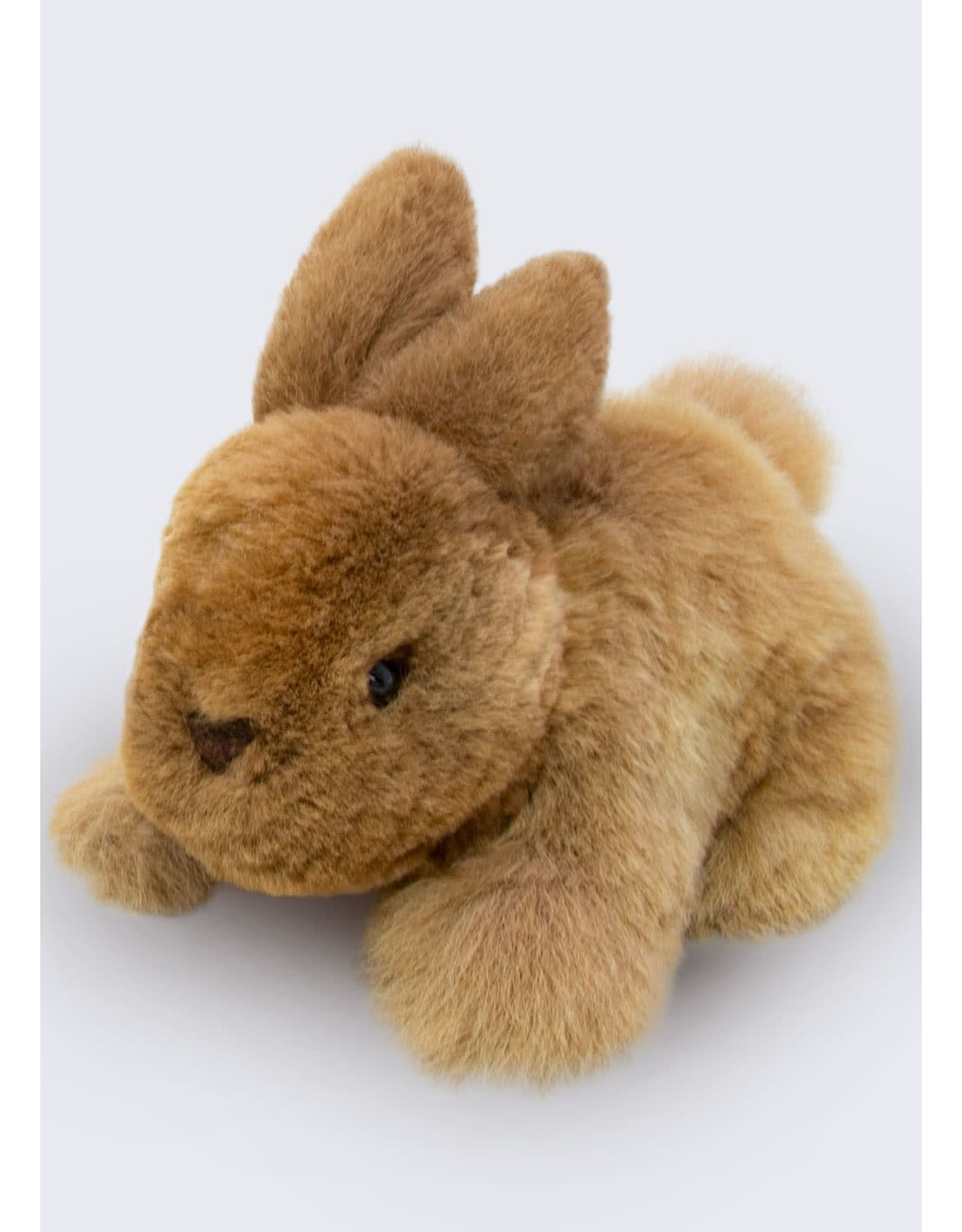 "6.5"" Baby Alpaca Fur Rabbit Plush"