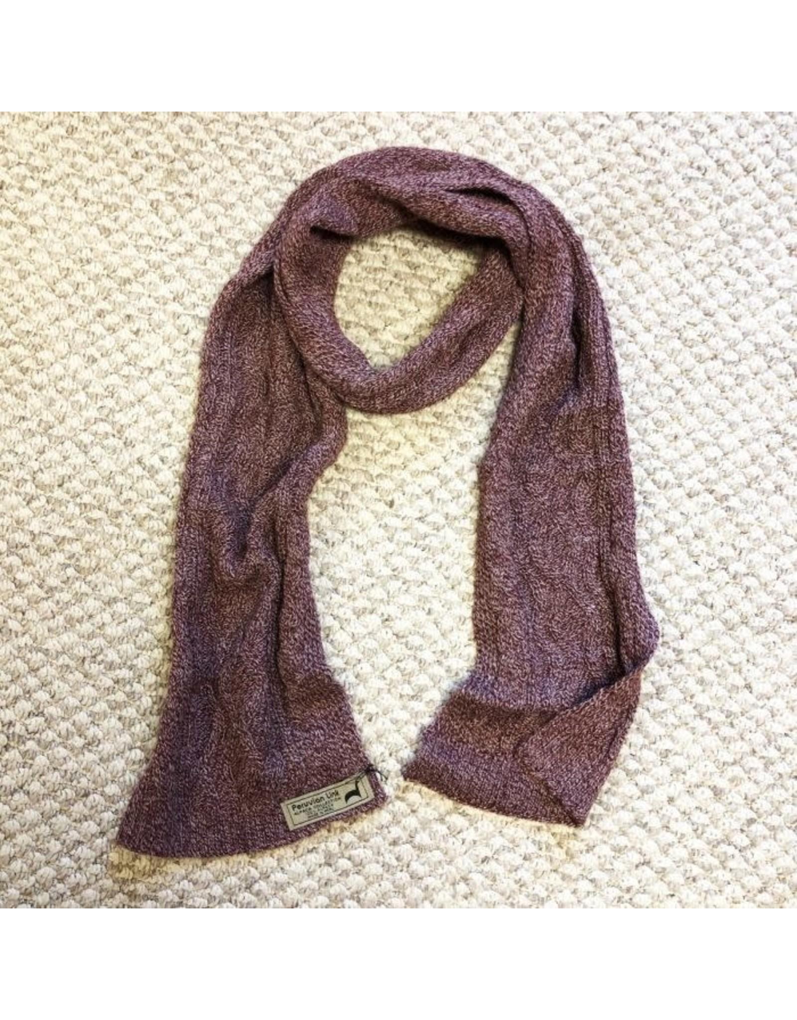 Collegiate Alpaca scarf