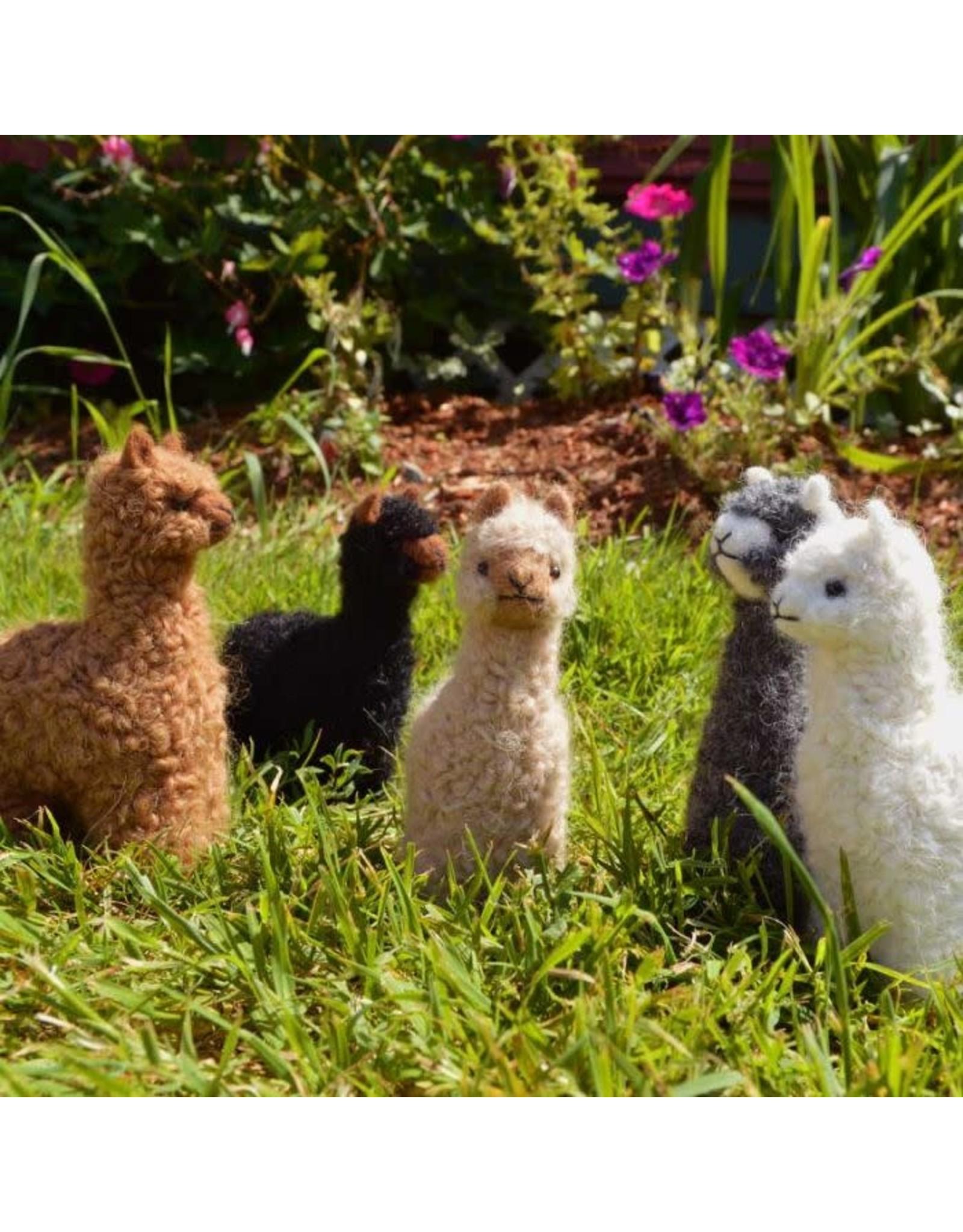 """Felted 6"""" 100% Baby Alpaca"""