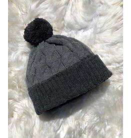 Two Toned Alpaca Hat (Grey)