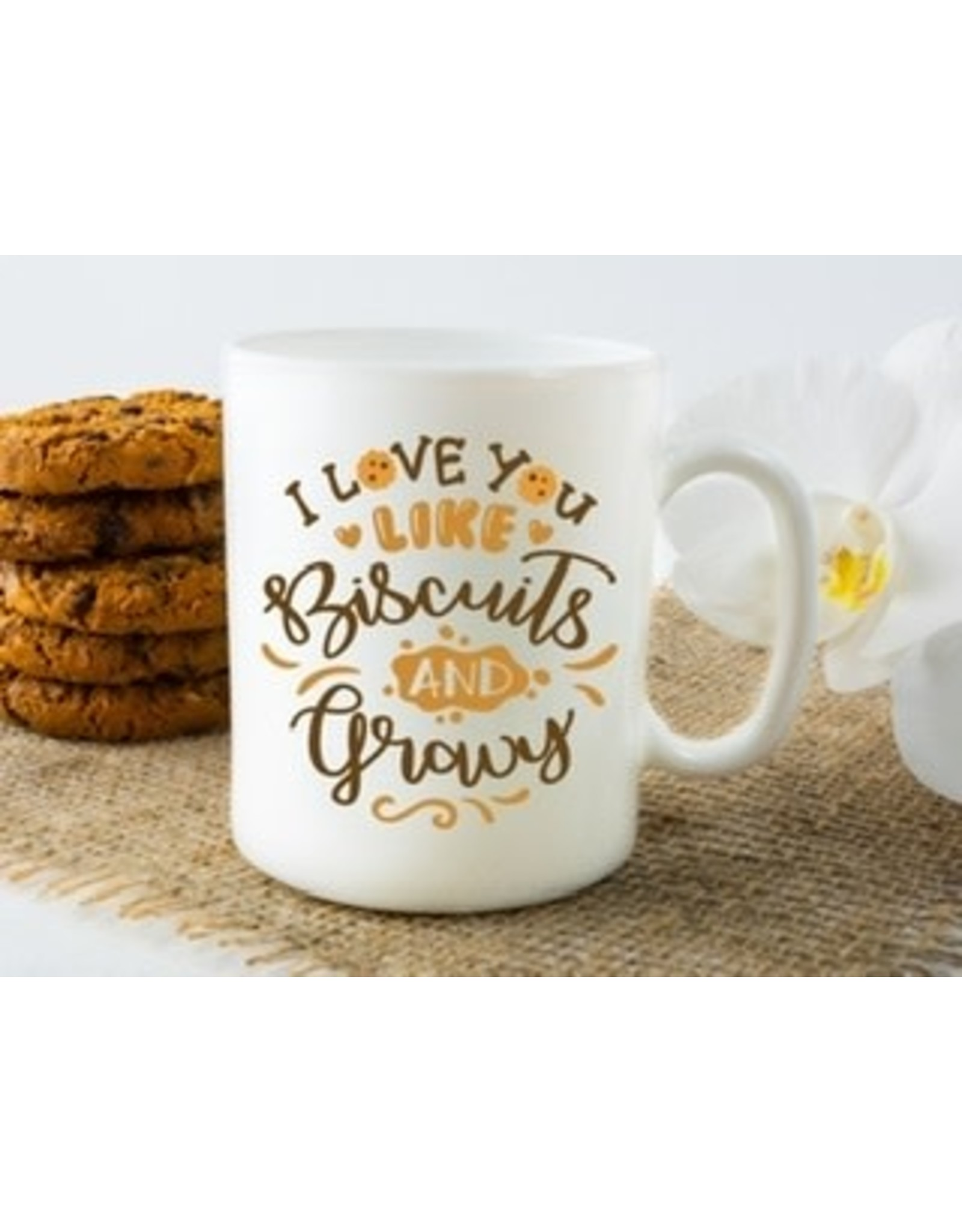 "11 oz. Mug - "" Love You Like Biscuits and Gravy"""
