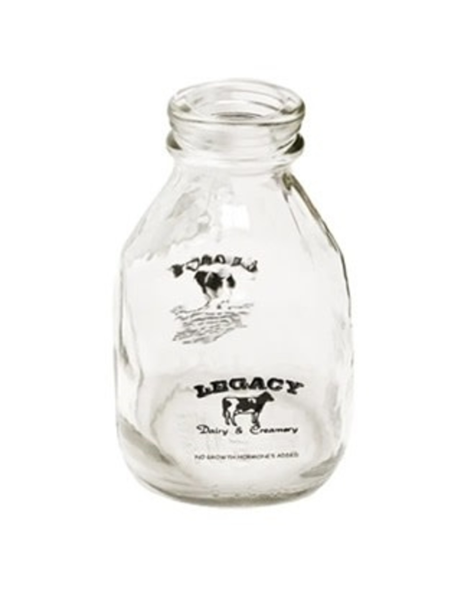 Authentic Dairy Pint Glass  Milk Bottle