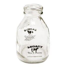 Authentic Dairy Pint Glass  Milk Bottle